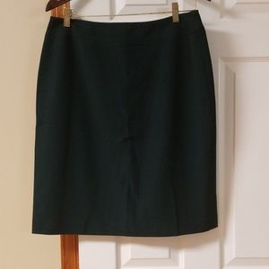 Trousersetc forest green pencil skirt